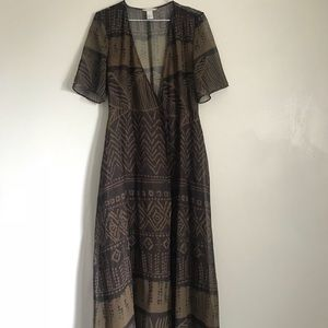 H&M Maxi Wrap Dress